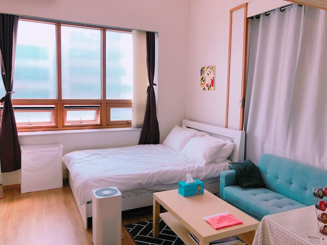KINTEX 5min /Studio with attic 3 bd/복층/ Free WiFi