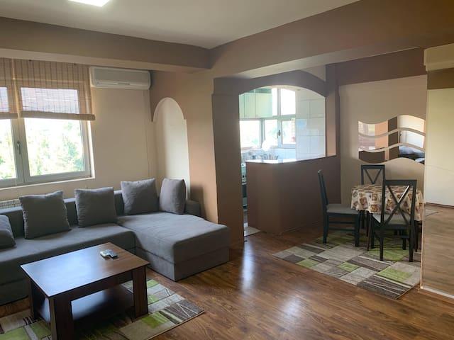 Cozy One-Bedroom Apartment in Leptokarija Area