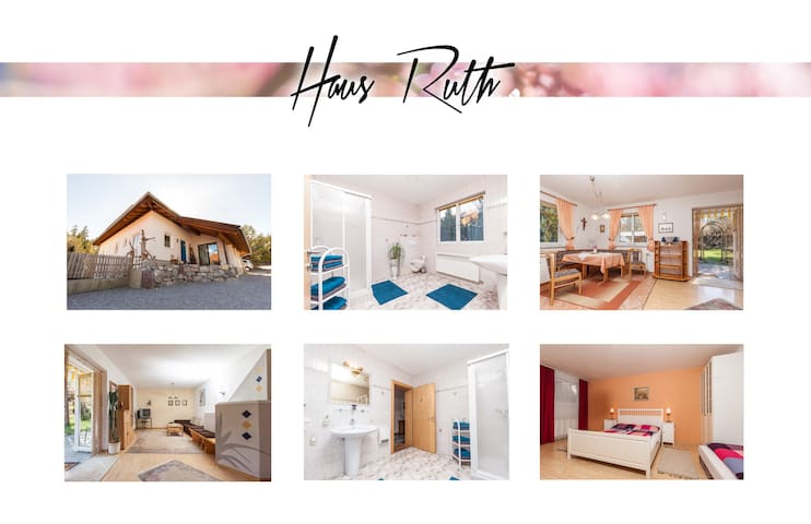 House Ruth, 75 sqm, Guided hiking, biking possible
