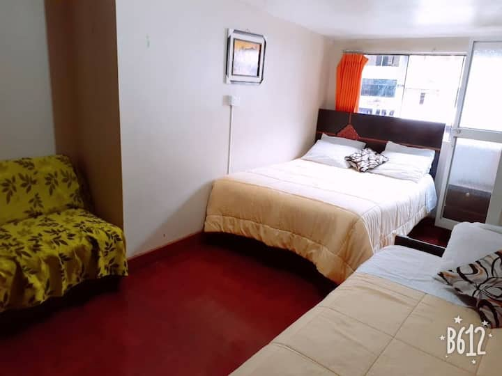modo.hostel familiar 3 hab economica baño privado