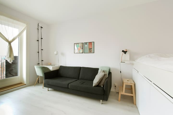 Modern, light and central apartment in Sagene