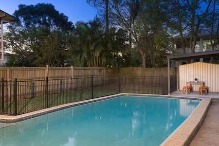 Lovely Home with Private Pool - Enoggera