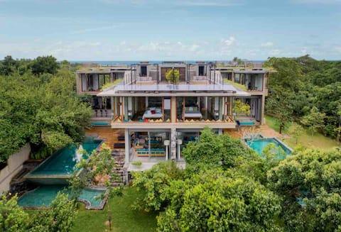 Buona Vista North -Luxury Villa på Rummassala Hill
