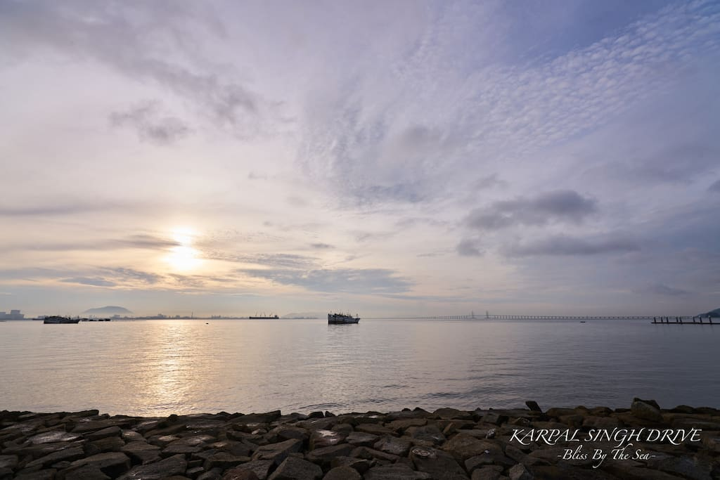 Panaromic sea view