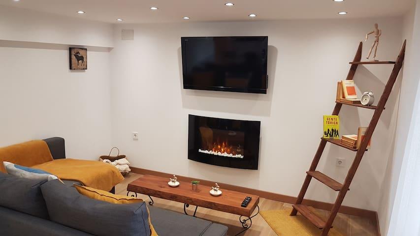 Apartamento con Wi-Fi y aparcamiento gratis