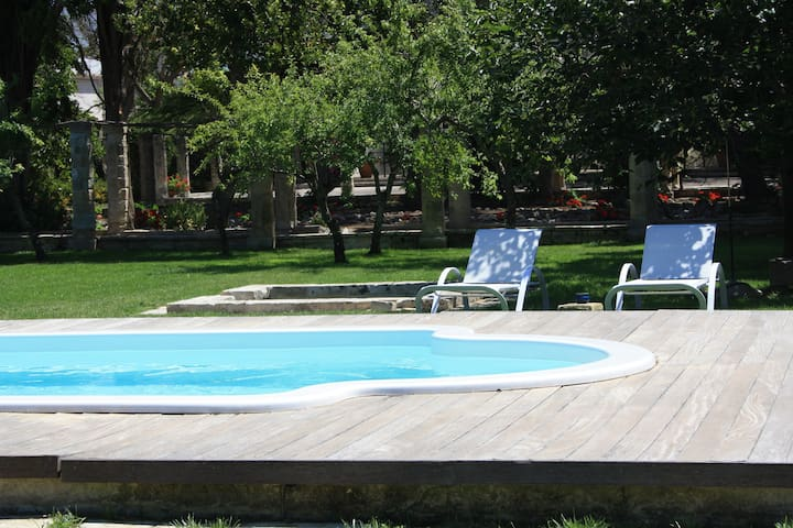 Suite BASTIONE in the Castle with pool