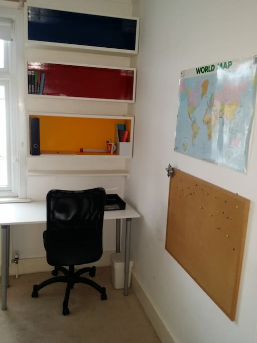 Great space for working of studing