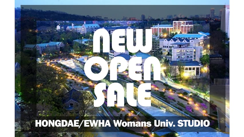 "[NEW OPEN] ""Hongdae & Ewha Womans Univ."" Studio - Seodaemun-gu - Appartement"
