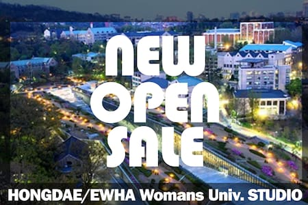 "[NEW OPEN] ""Hongdae, Ewha Womans Univ."" Studio - Содэмунгу"