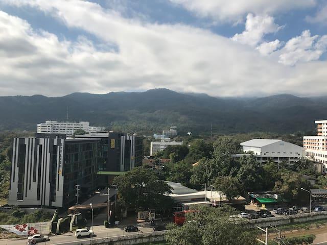 Doi Suthep View - Digital Nomad Condo Nimman - Chiang Mai - Condominio