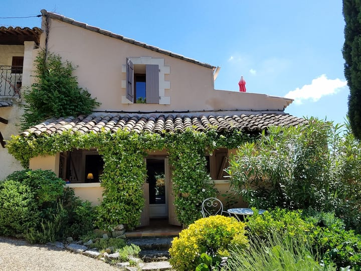 A typical village house in Luberon.