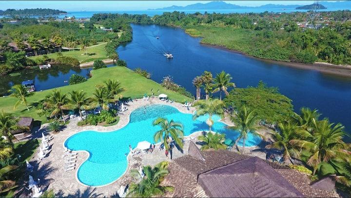 Resort Paradisíaco entre Angra e Paraty Flat 2 qts