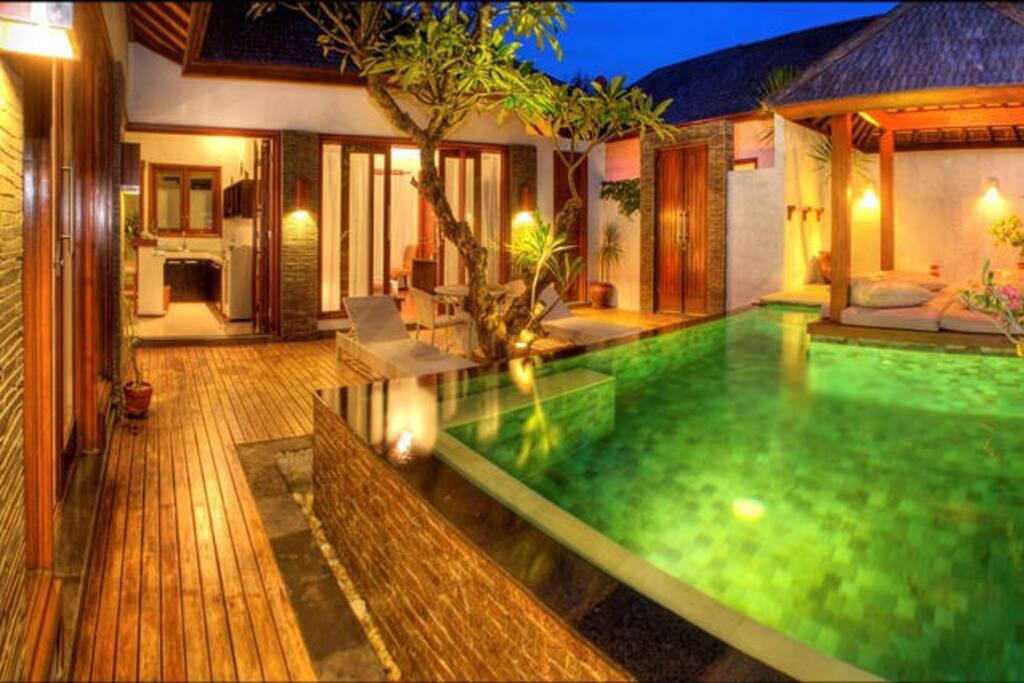 2 bedroom villa with private pool apartments for rent in