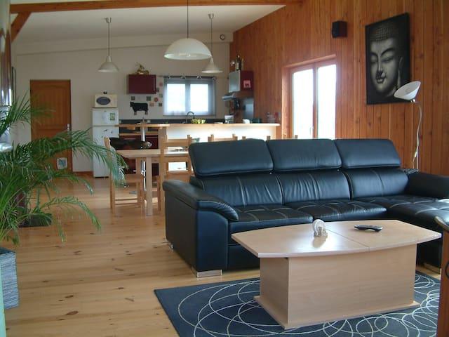 Maison bois à 200m de la mer - Lanildut - House