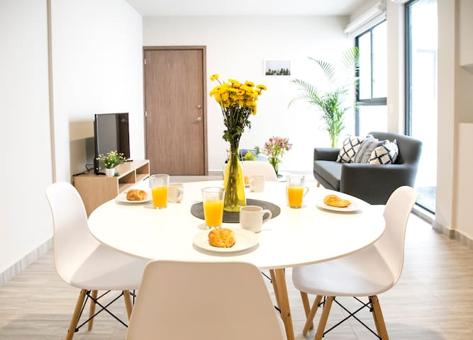 Cool and new apartment in Roma
