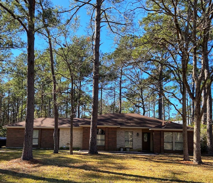 Casa del Lago at Lake Sam Rayburn! Sleeps up to 6!