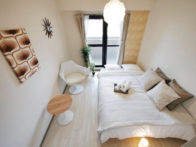 5min walk from shibuya station with Free wifi - Shibuya-ku - Apartemen