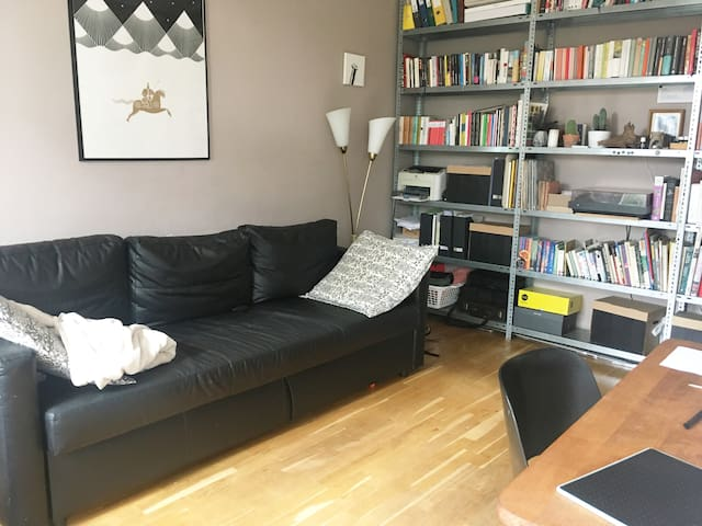 Quiet and light retro apartment for two or three