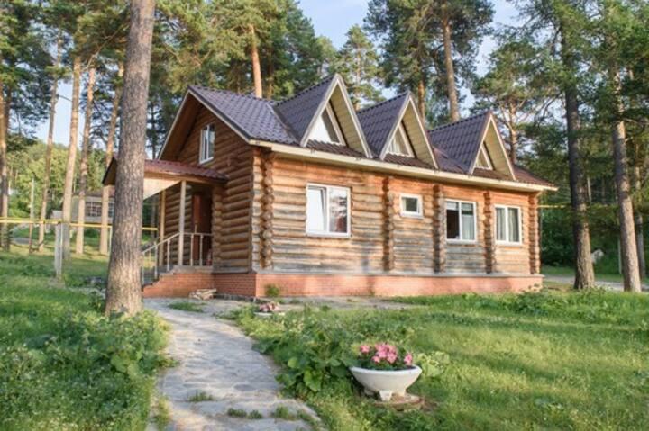 Коттедж 110 м² озеро Тургояк