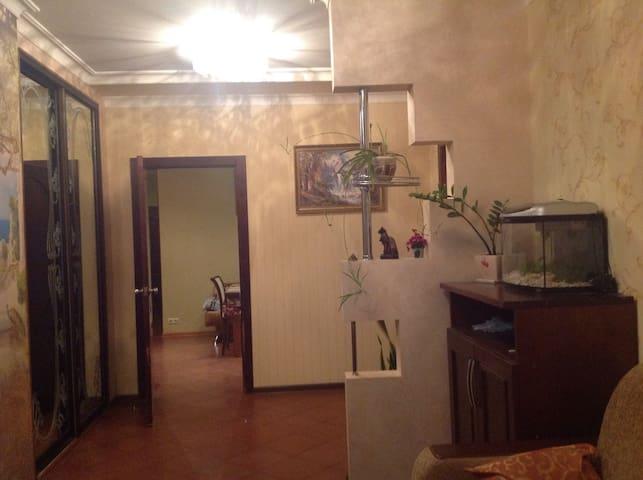 Отличная 3-х комнатная квартира плюс классный двор - Sergiyev Posad - Bed & Breakfast