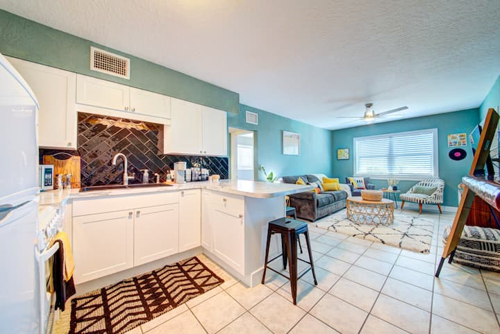 The Sun Shack Apartment in downtown Cocoa Beach