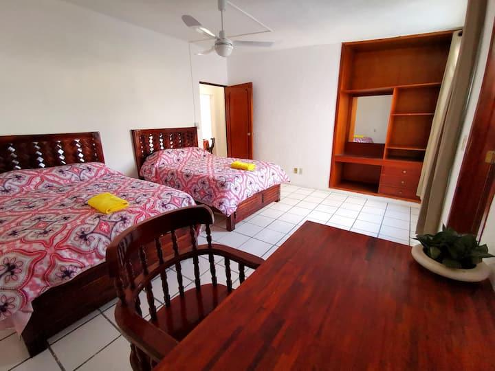 Hermoso y amplio alojamiento en Xamaipak (m)