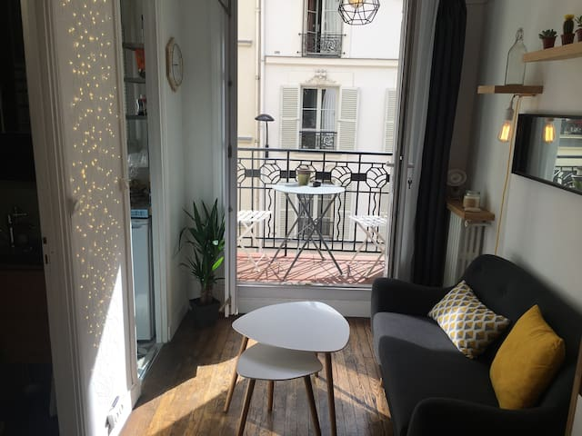 Charmant studio refait à neuf - Paris - Appartement