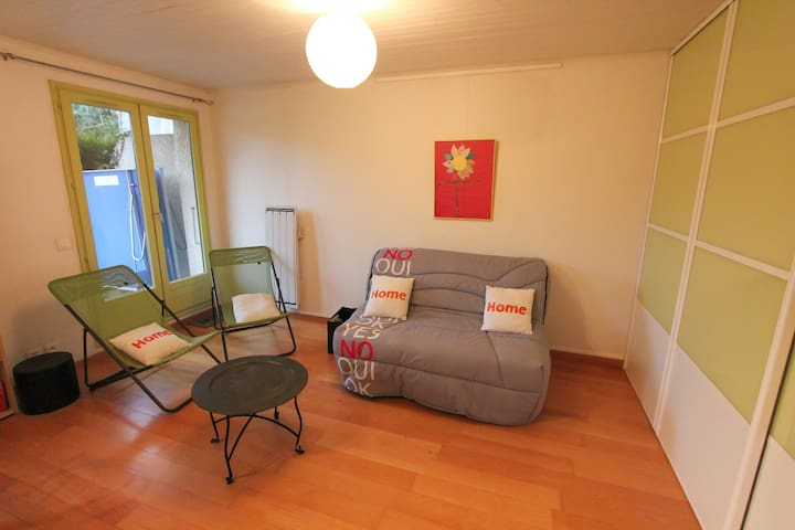 Apartment + garden at five minutes from the lake
