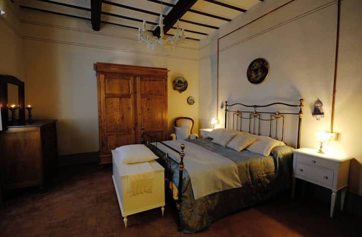 B&B Cimamori  in the hearth of Tuscany - Blue Room