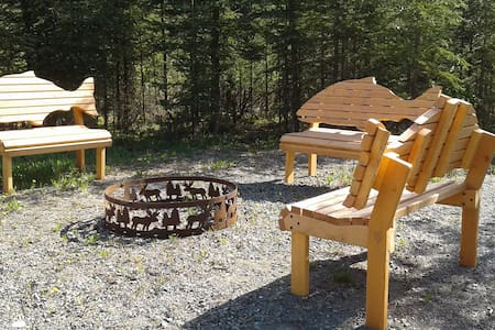 2 bedroom, 1 bath quiet lodge with forest view! - Soldotna - Квартира
