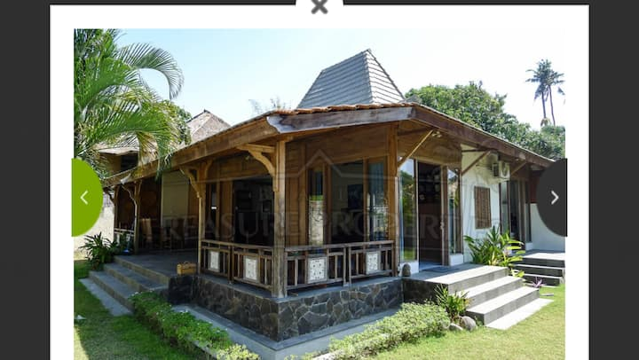 Villa by the mangroves in Bali
