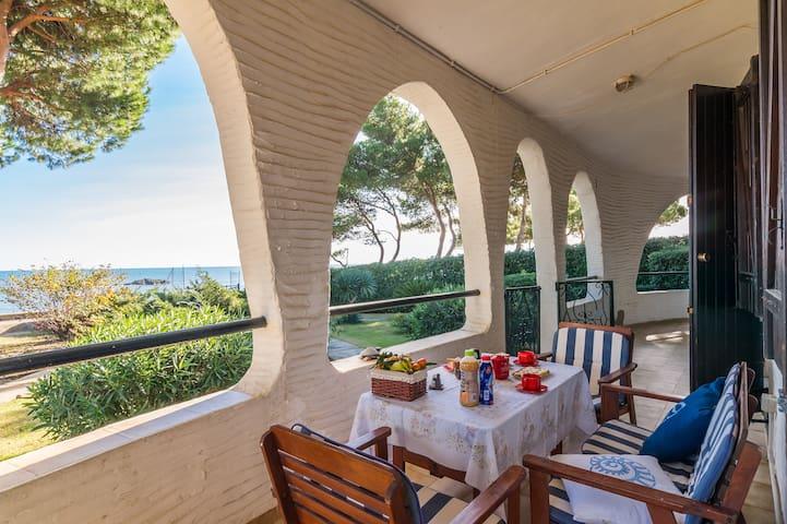 12 STEPS TO THE BEACH: Villa Porto Columbu - Porto Columbu-Perd'e Sali - Lejlighed