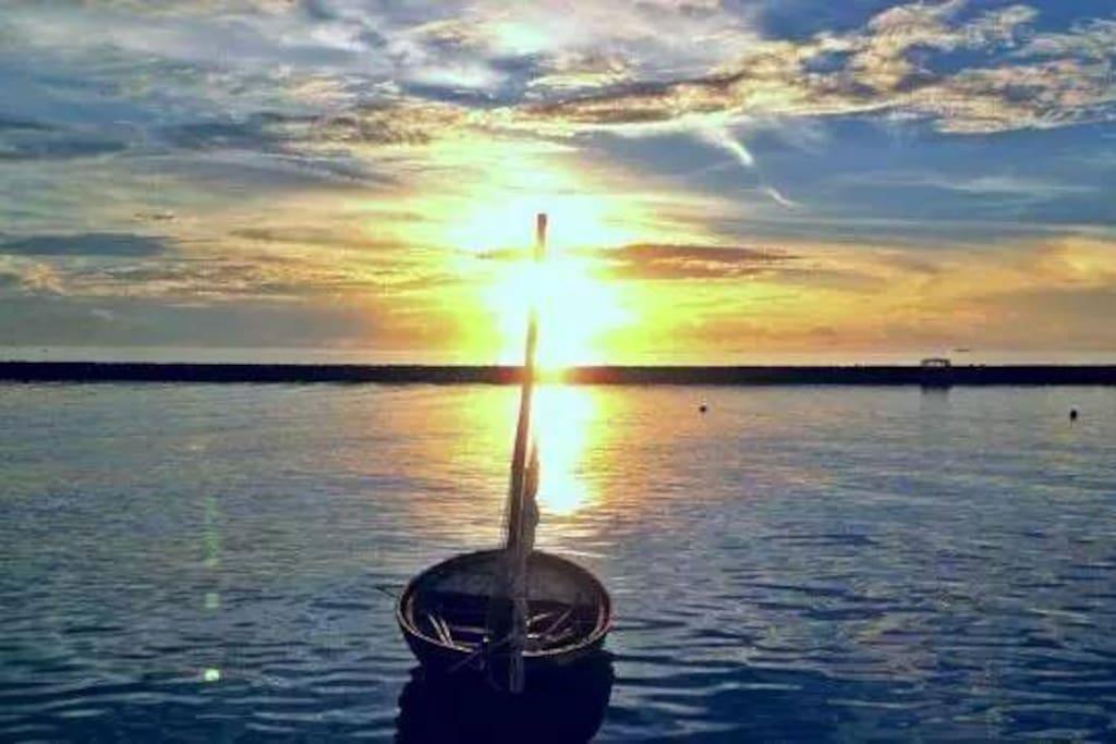 Sunset, Nilandhoo Island