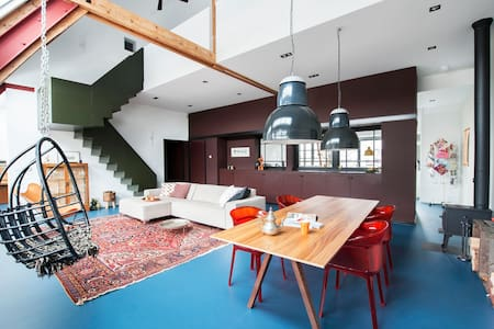 Stylish & Modern Penthouse LOFT @ The Vondelpark! - Ámsterdam