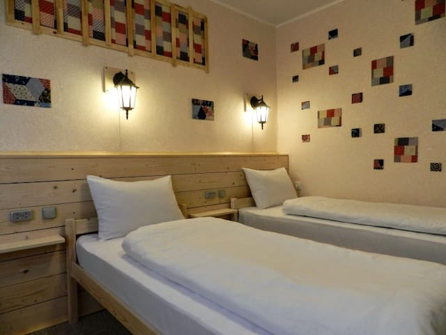 Twin room. Patchwork GuestHouse