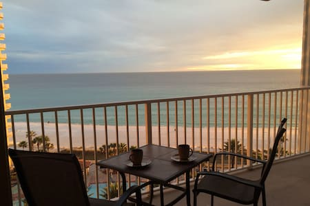 Aug& Sep REDUCED RATES! Beachfront Condo w/parking - Panama City Beach - Condominium