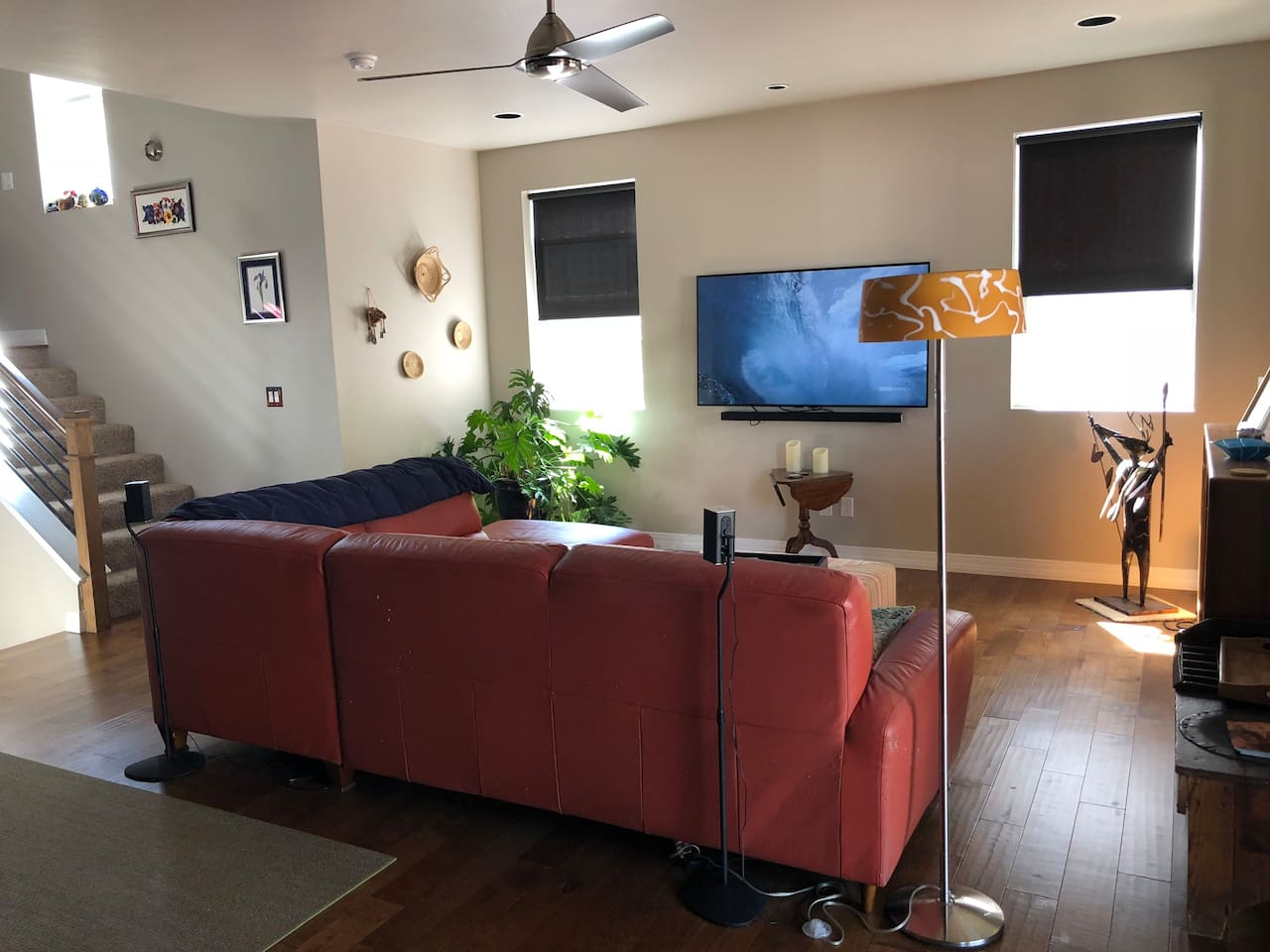 Living Room shared with host - TV and surround sound