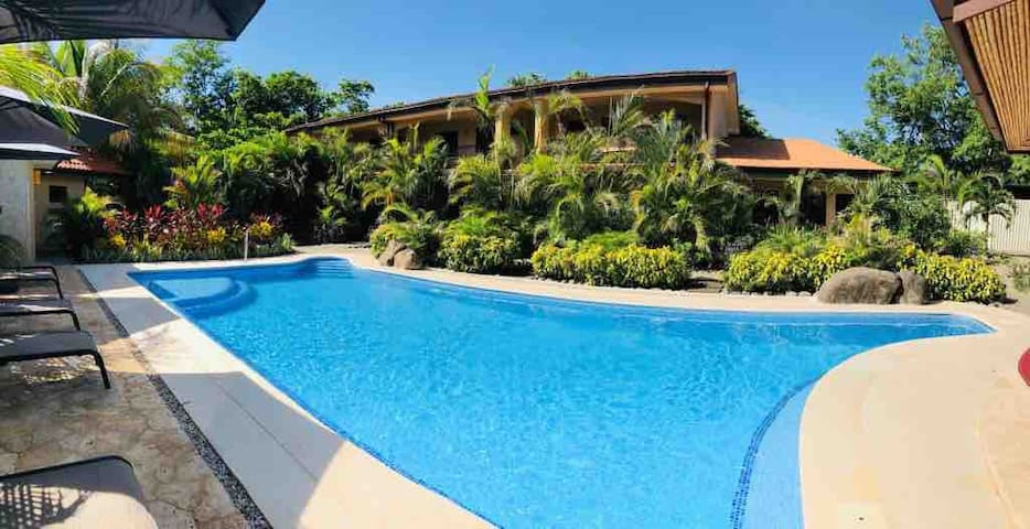 Tamarindo apartment,relaxing~ quietw/pool,jobhome#