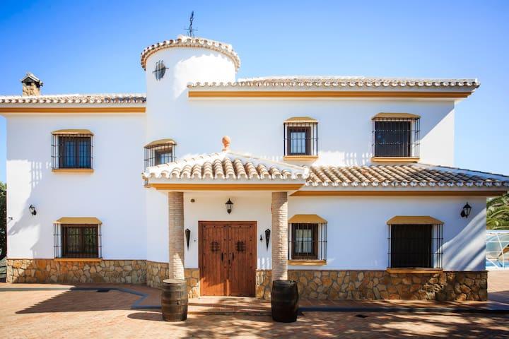 casa rural las encinas - Riogordo - บ้าน