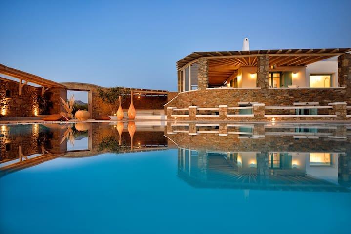 Villa Irida | Mesmerizing View & Pool, Kalo Livadi