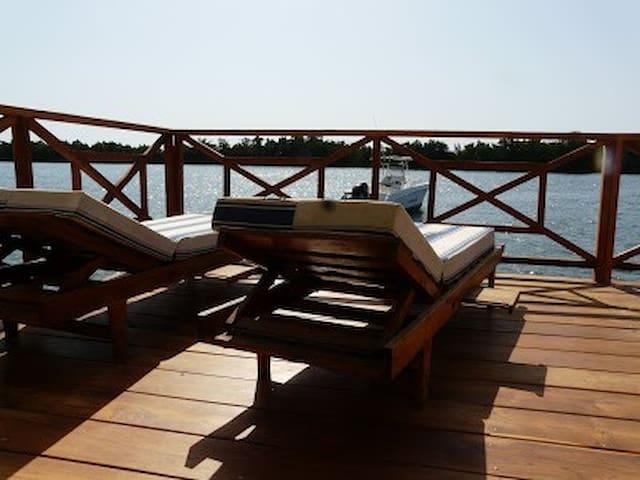 La Marina n°6, les pieds dans l'eau - Cap Skirring - Дом