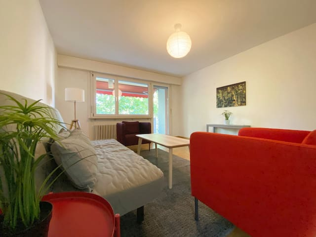 Bright apartment near park, 2 bedrooms, 2nd floor