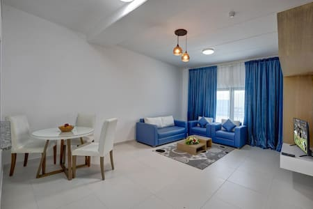 Blue Zone Theme Apartment