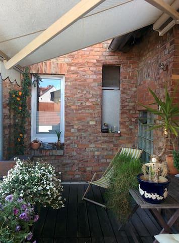 Einzelzimmer am Moritzberg m. Balkon und Badewanne