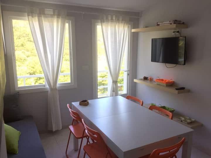 Apartamento a pie de playa Cabeiro