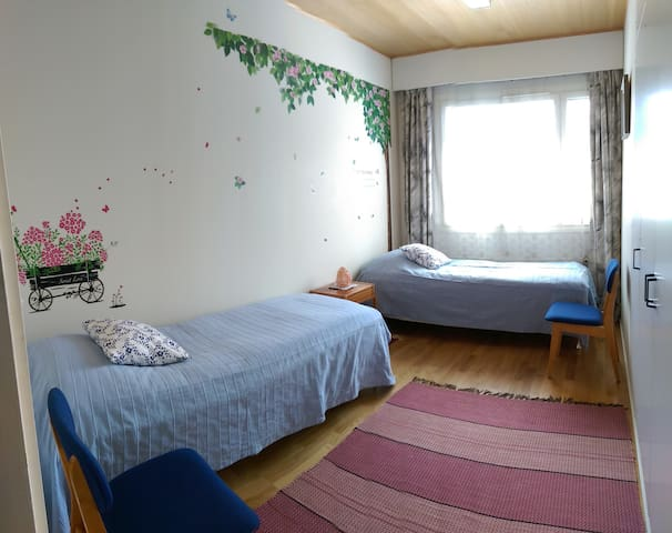 Cosy room in peaceful area