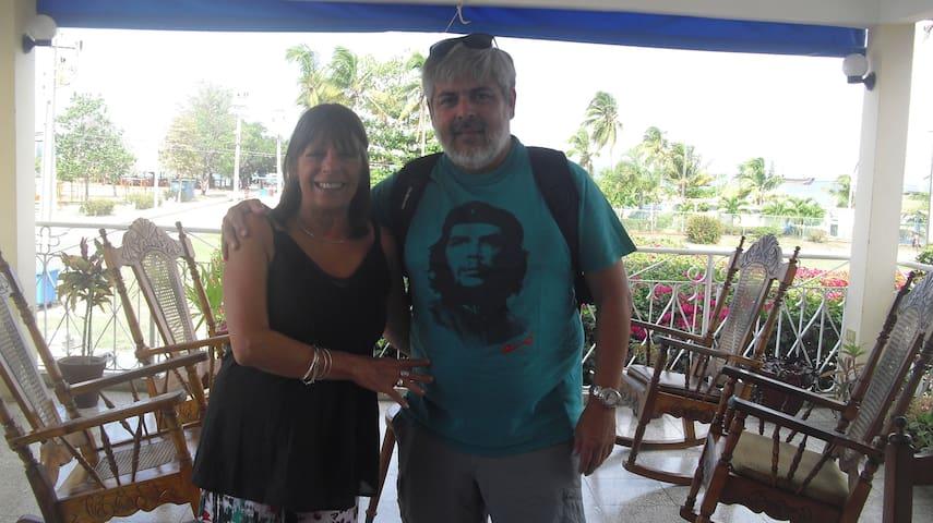 Siempre quedaran en en mi recuerdo esta excelente pareja de argentinos