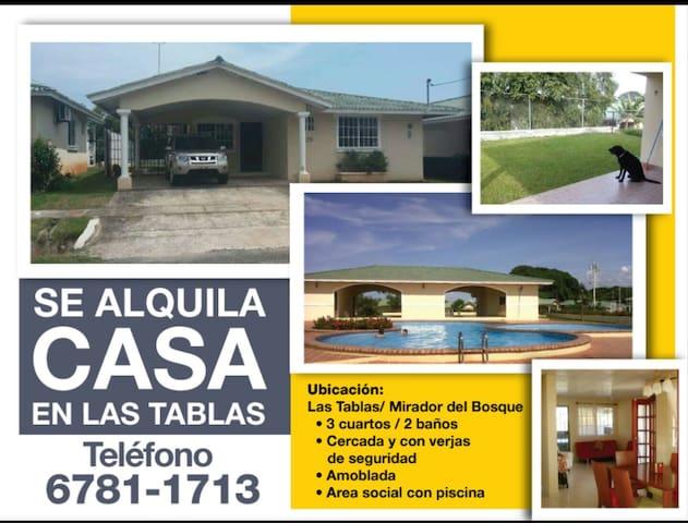 Casa en Las Tablas - Provincia de Los Santos.  (3.5 horas de la Ciudad)  - Dům