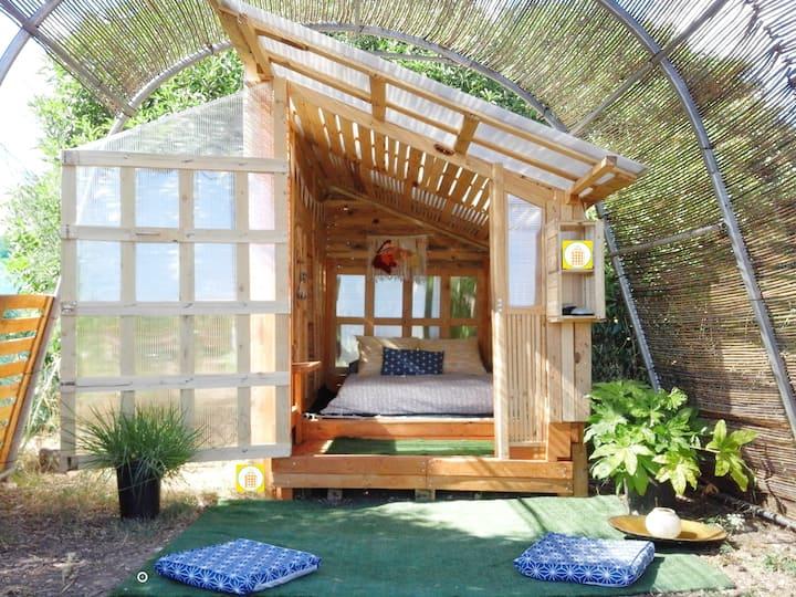 Boho Cabin Bed 2 Mallorca