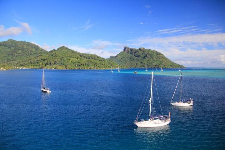 Profitez de Huahine et de son magnifique lagon